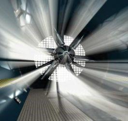 Túnel de vento em Furnas